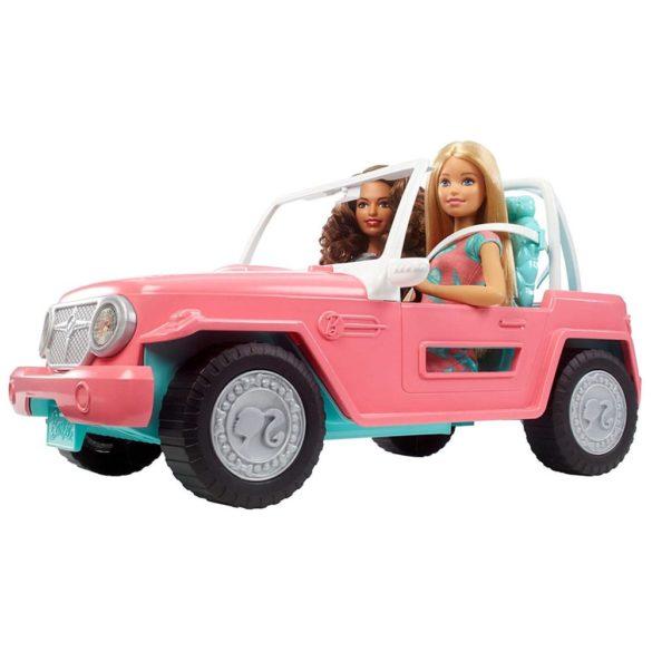 Barbie Masina Jeep cu Doua Papusi FPR59 2