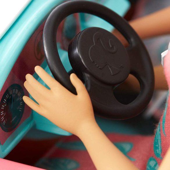 Barbie Masina Jeep cu Doua Papusi FPR59 4