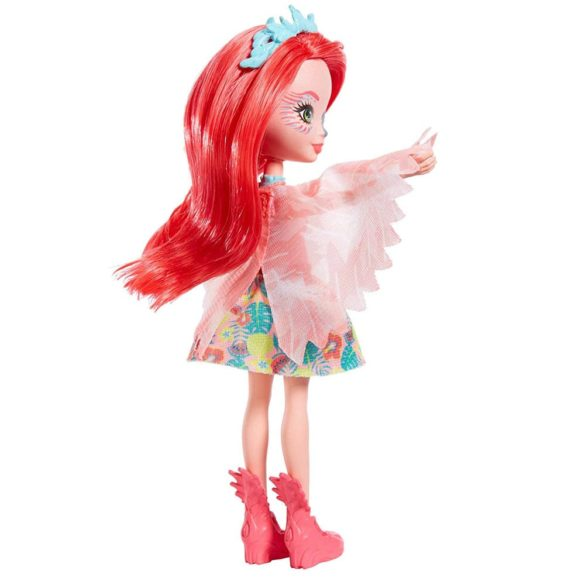 Enchantimals Papusa Fanci Flamingo si Figurina Swash 2