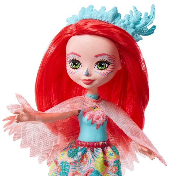 Enchantimals Papusa Fanci Flamingo si Figurina Swash 3