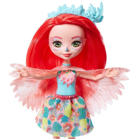 Enchantimals Papusa Fanci Flamingo si Figurina Swash 5