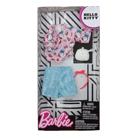 Hainute Barbie din Desene Hello Kitty Model 6 2