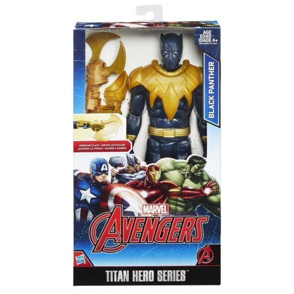 Figurina de Actiune Black Panther 30cm Avengers Titan Hero 2
