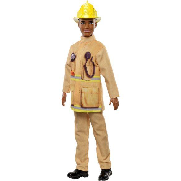 Papusa Barbie Baiat Pompierul Ken