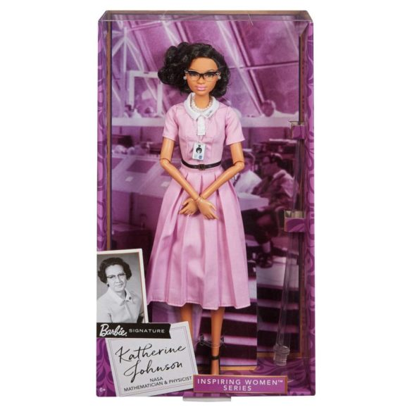 Papusa de Colectie Barbie Inspiring Women Katherine Johnson 10