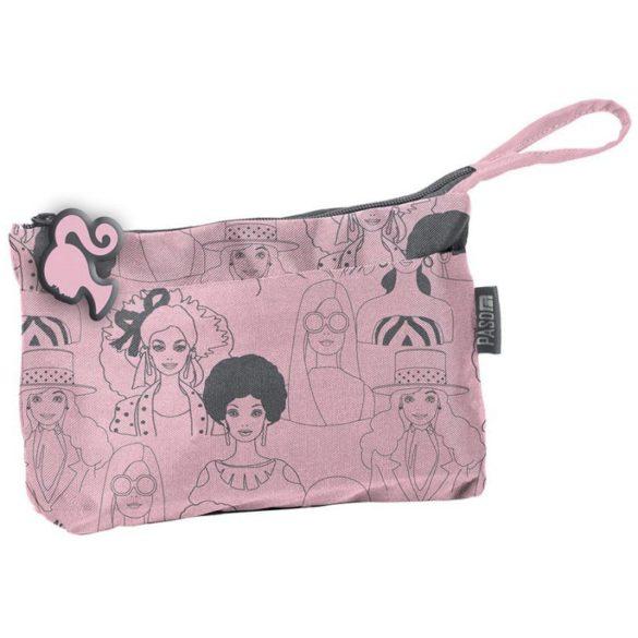 Penar Barbie / Portfard Roz - Gri