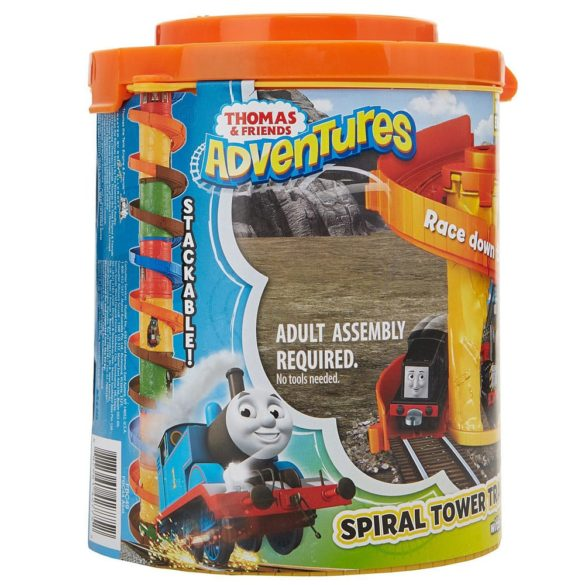 Set de joaca Thomas Locomotiva Diesel si Spirala Tower Tracks