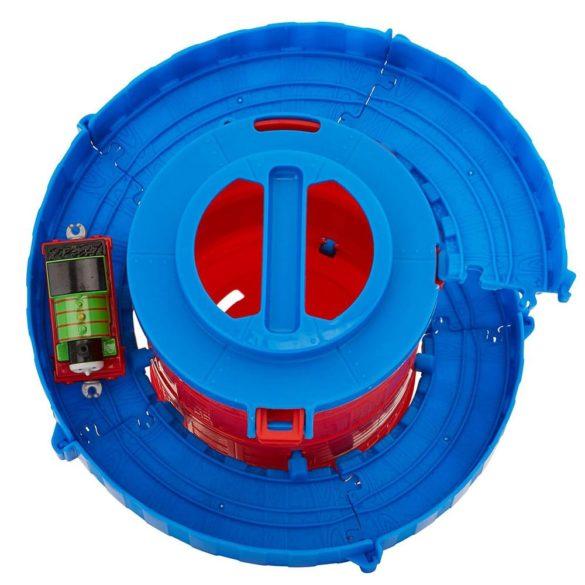 Set de joaca Thomas Locomotiva Percy si Spirala Tower Tracks 4