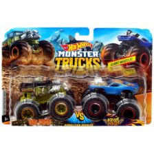 Hot Wheels Monster Trucks Set Bone Shaker & Rodger Dodger