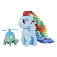 My Little Pony Silly Looks Figurina Rainbow Dash
