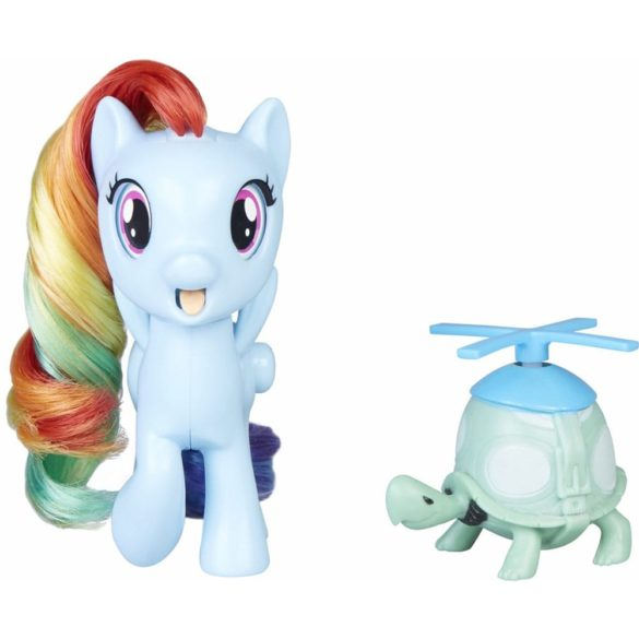My Little Pony Silly Looks Figurina Rainbow Dash 7