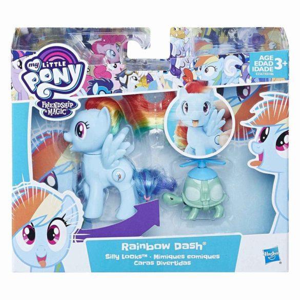 My Little Pony Silly Looks Figurina Rainbow Dash 8