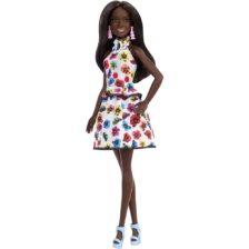 Papusa Barbie Fashionistas #106 AA cu Imprimeu Floral