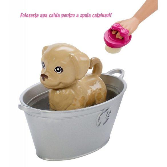 Papusa Barbie ne Jucam si Spalam Catelusii 3