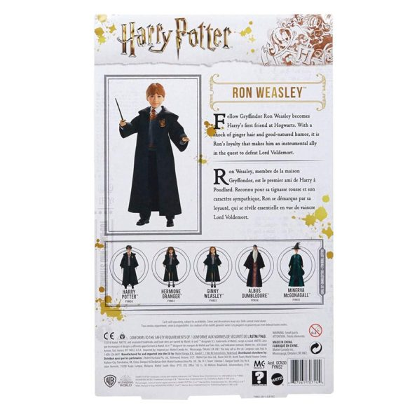 Colectia Harry Potter Papusa Ron Weasley 8