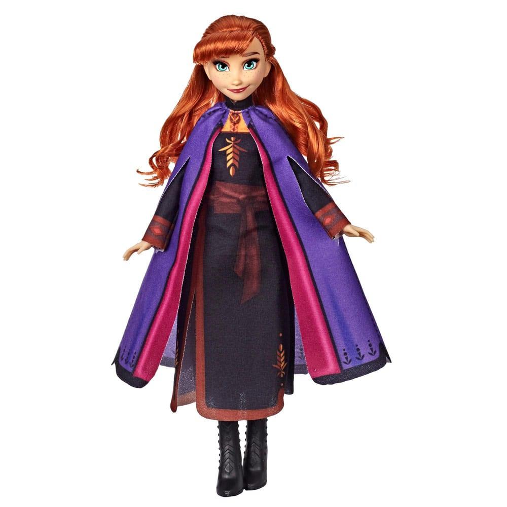 Disney Frozen II Papusa Anna cu Par Lung si Roscat
