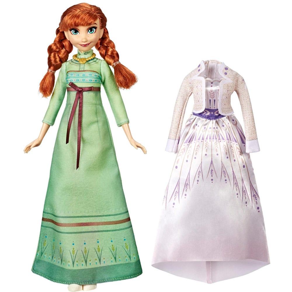Disney Frozen II Papusa Anna cu Rochie de Schimb