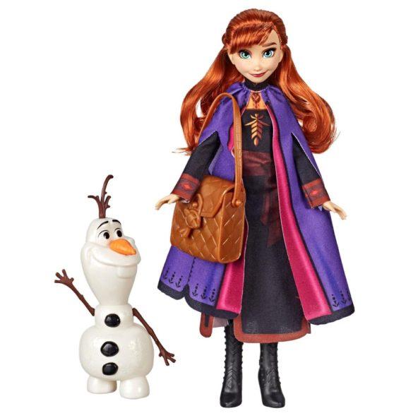 Disney Frozen II Papusa Anna si Figurina Olaf