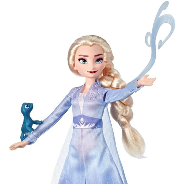 Disney Frozen II Papusa Elsa Figurina Pabbie si Salamander 2