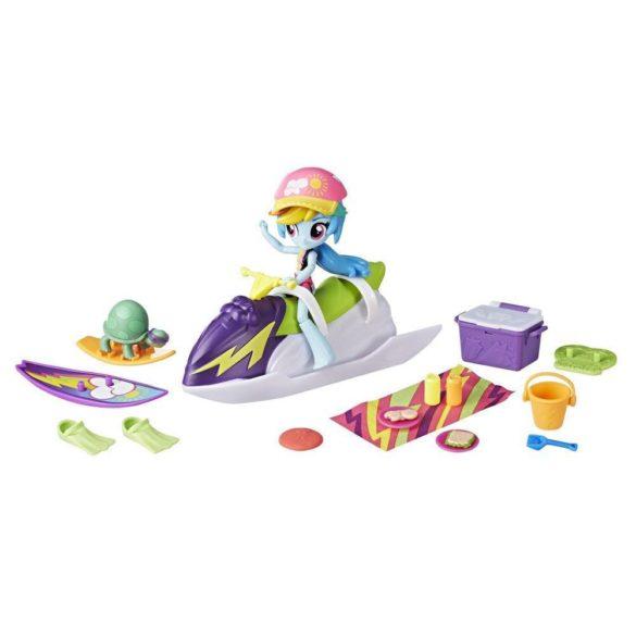 Figurina My Little Pony Rainbow Dash Sporty Beach