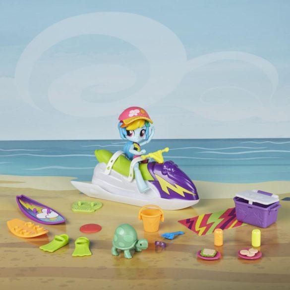 Figurina My Little Pony Rainbow Dash Sporty Beach 2