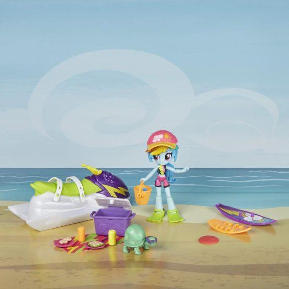 Figurina My Little Pony Rainbow Dash Sporty Beach 5