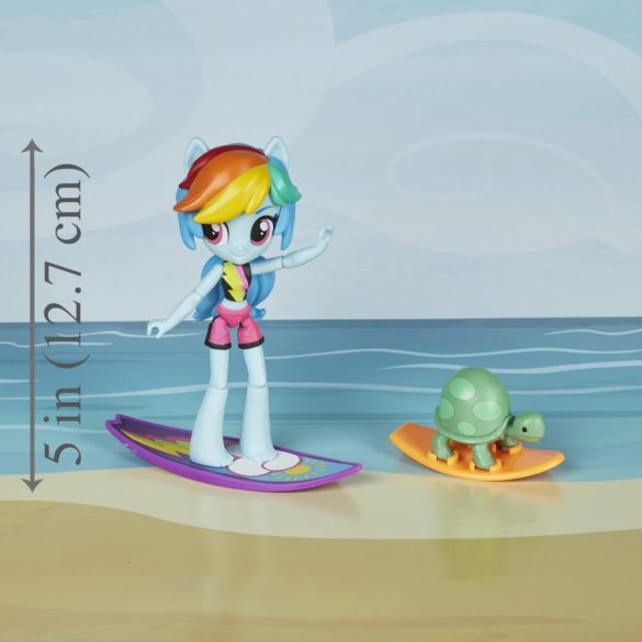 Figurina My Little Pony Rainbow Dash Sporty Beach 6