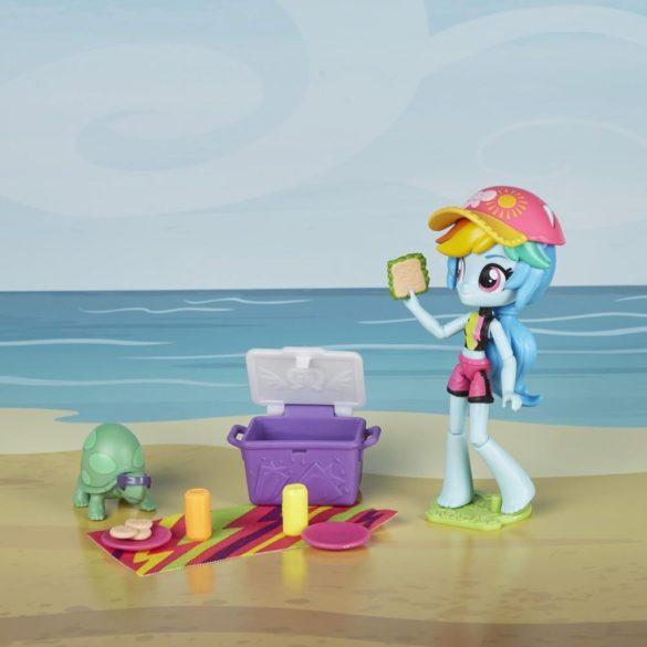 Figurina My Little Pony Rainbow Dash Sporty Beach 7
