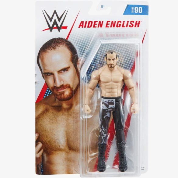 Figurina de Actiune WWE Aiden English 4