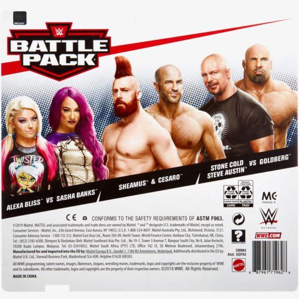 Figurine WWE ALEXA BLISS SASHA BANKS Colectia Battle Pack 6