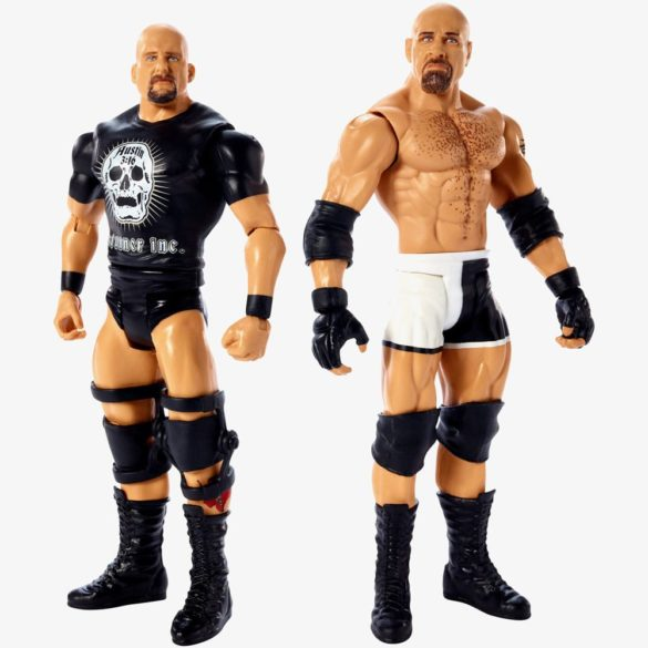Figurine WWE GOLDBERG & STONE COLD - Colectia Battle Pack