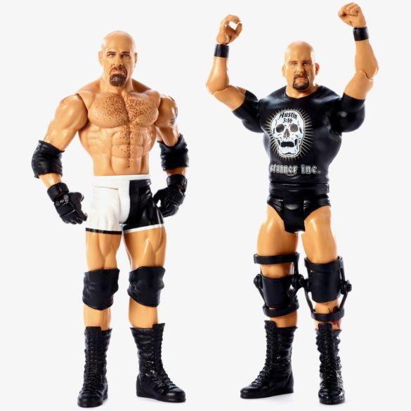 Figurine WWE GOLDBERG STONE COLD Colectia Battle Pack 2