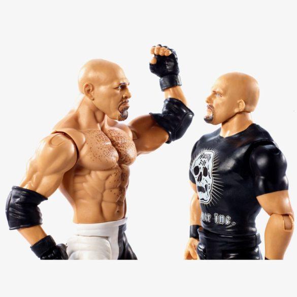 Figurine WWE GOLDBERG STONE COLD Colectia Battle Pack 4