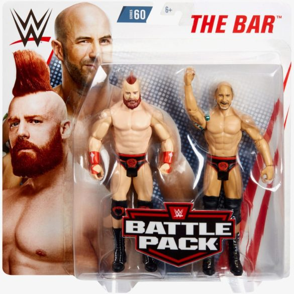Figurine WWE Pachet SHEAMUS CESARO Colectia Battle Pack 6