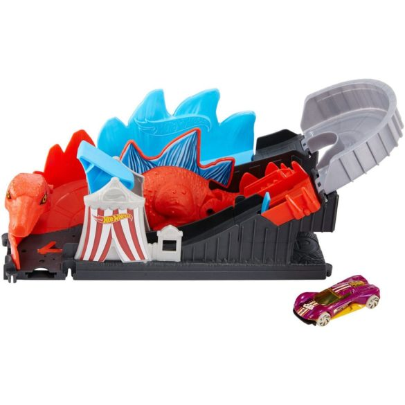 Hot Wheels City Atacul Dinozaurului