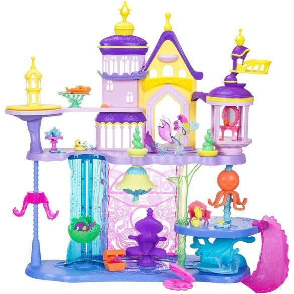 My Little Pony castelul Canterlot si Seaquestria C1057 set de joaca