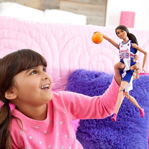 Papusa Barbie Made to Move Jucator de Baschet 7