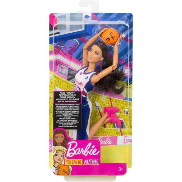 Papusa Barbie Made to Move Jucator de Baschet 8