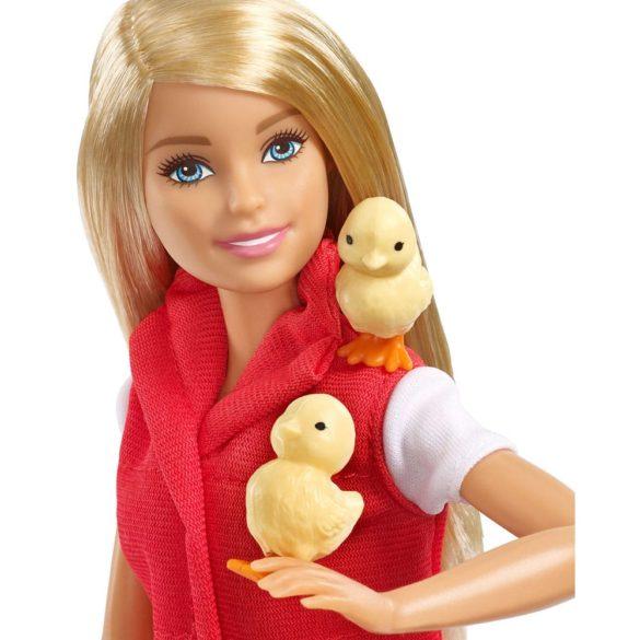 Set de Joaca cu Papusa Barbie Ferma Animalelor 3