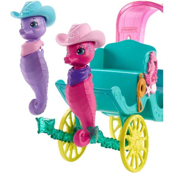 Set de joaca Mattel Enchantimals Trasura cu Caluti de Mare 3