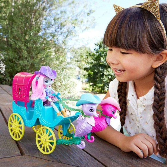 Set de joaca Mattel Enchantimals Trasura cu Caluti de Mare 8