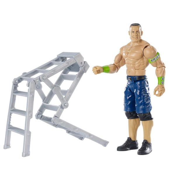 WWE Figurina John Cena Colectia Wrekkin Cu Scara 3