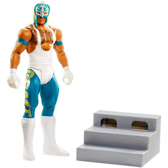 WWE Figurina Rey Mysterio Colectia Wrekkin' (Cu Scara)