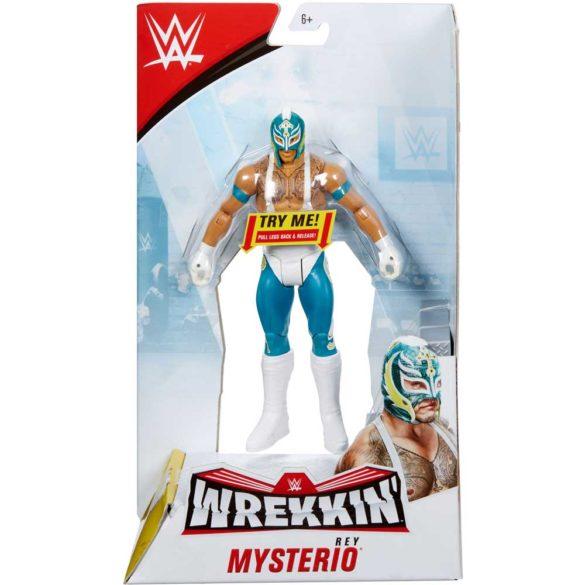WWE Figurina Rey Mysterio Colectia Wrekkin Cu Scara 5