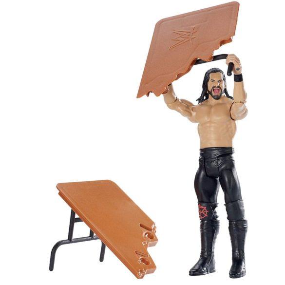 WWE Figurina Seth Rollins Colectia Wrekkin Cu Masa 3