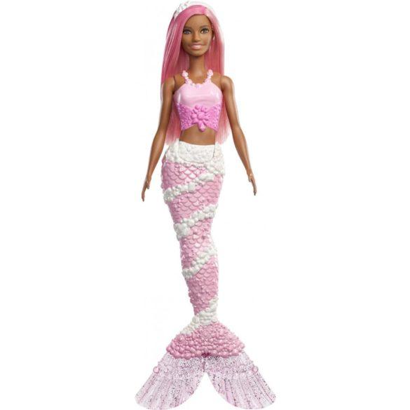Barbie Dreamtopia Sirena cu Parul Roz