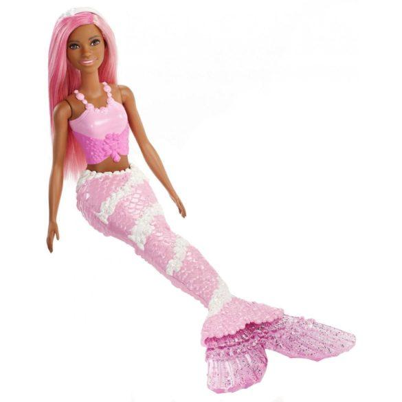 Barbie Dreamtopia Sirena cu Parul Roz 3