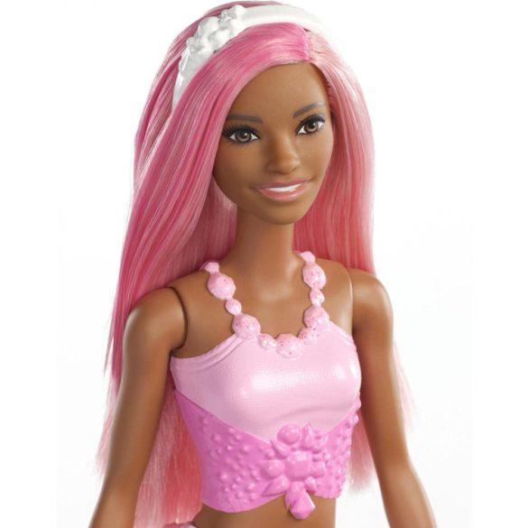 Barbie Dreamtopia Sirena cu Parul Roz 5