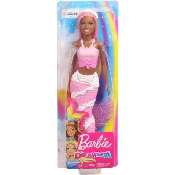 Barbie Dreamtopia Sirena cu Parul Roz 8