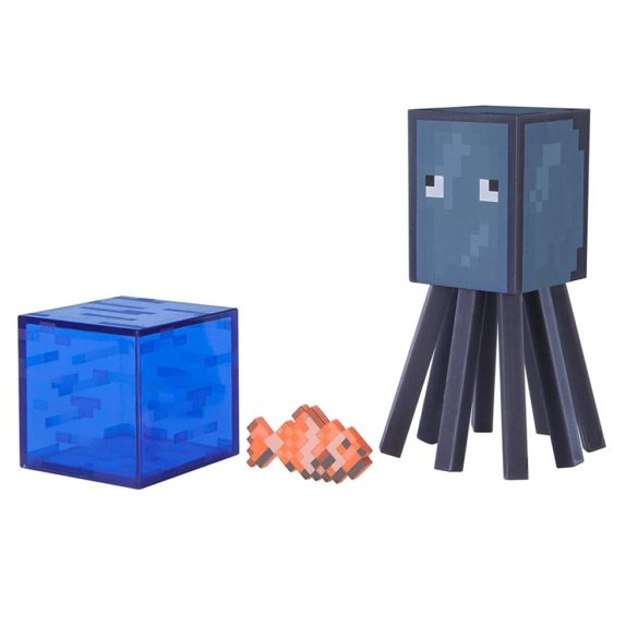 Figurina Minecraft Seria 3 Squid